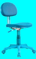 iMac office chair IP-808 Blue