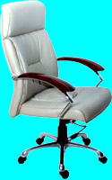 Leather office chair IP-9906A