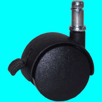 Casters for office chairs TC-20 Brake