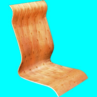 Plywood for office chairs A08