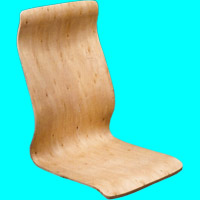 Plywood for office chairs A621