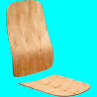 Plywood for office chairs D204A