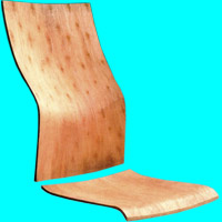 Plywood for office chairs 3511A